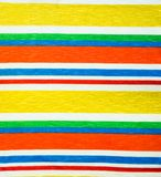 Rainbow clothes background, colorful clothes Stock Photos