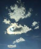 Rainbow cloud Stock Photo
