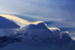 Rainbow clouds Royalty Free Stock Images