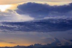 Rainbow clouds Stock Photo