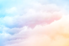 Rainbow Clouds Stock Photography
