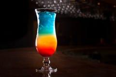 Rainbow cocktail Royalty Free Stock Photos