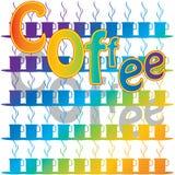 Rainbow Coffee Royalty Free Stock Photo