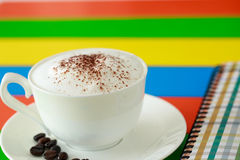 Rainbow coffee Royalty Free Stock Images
