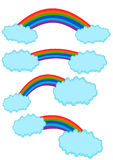 Rainbow Collection Vector Royalty Free Stock Image