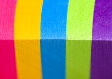 Rainbow of color Stock Images