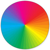 RAINBOW COLOR Royalty Free Stock Images