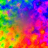 Rainbow Color Abstract Background - Colorful Paint Royalty Free Stock Images