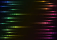 Rainbow color of abstract pixel speed background. Abstract pixel speed background, square layer line motion, technology geometric background, illustration, dark stock illustration