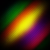 Rainbow color background. Color background in rainbow colors, with grunge lines running across diagonally vector illustration