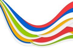 Rainbow color background. Rainbow color presentation modern business background stock illustration