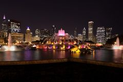 Rainbow Color of Chicago Royalty Free Stock Photos