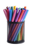Rainbow Color Markers Royalty Free Stock Image