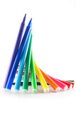 Rainbow Color Markers Royalty Free Stock Photos