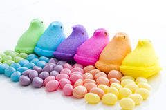 Rainbow Easter Stock Photography