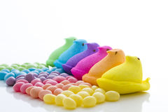 Rainbow Easter Royalty Free Stock Photos