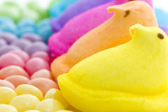 Rainbow Easter Royalty Free Stock Photo
