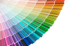 Rainbow color palette Royalty Free Stock Photos