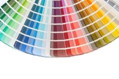 Rainbow color palette Stock Photo