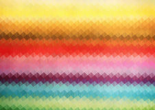 Rainbow Color triangle grid. geometric background Royalty Free Stock Photos