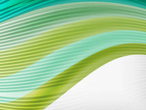 Rainbow color wave abstraction design template Stock Photography