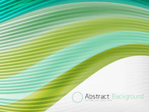 Rainbow color wave abstraction design template Royalty Free Stock Images