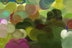 Rainbow colored background Royalty Free Stock Photos