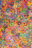 Rainbow colored Loom Royalty Free Stock Photos
