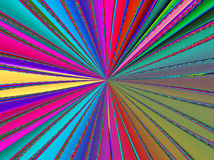 Rainbow colored rays texture background Stock Image