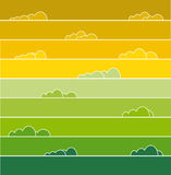 Rainbow colored Royalty Free Stock Photo