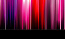 Rainbow colored slide Stock Photography