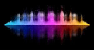 Vector Equalizer Effect Stock Photos