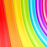 Rainbow colored stripe abstact background Stock Photo