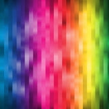 Rainbow Colored Stripe Wallpaper Background Royalty Free Stock Photo