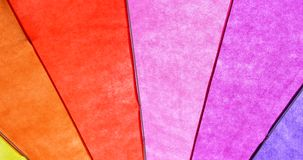 Rainbow Colored Umbrella Background