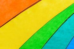 Rainbow Colored Umbrella Background Royalty Free Stock Image
