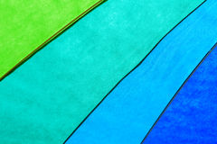Rainbow Colored Umbrella Background Royalty Free Stock Images