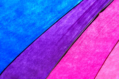 Rainbow Colored Umbrella Background Royalty Free Stock Photography