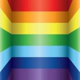 Rainbow colorful background Stock Image