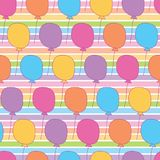 Rainbow colorful balloon. A playful, modern, and flexible pattern for brand who has cute and fun style. Repeated pattern. Happy, bright, and magical mood Royalty Free Stock Photography