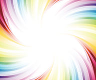 Rainbow colorful banner Stock Image