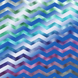 Rainbow Colorful Faux Foil Metallic Chevron Pattern Chevrons Royalty Free Stock Image