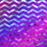 Rainbow Colorful Faux Foil Metallic Chevron Pattern Chevrons Stock Photo