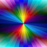 Rainbow colorful kaleidoscope background Stock Image
