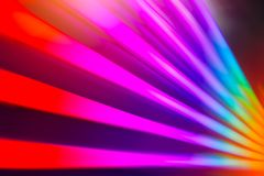 Rainbow colorful multi colors light effect royalty free stock photography