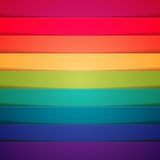 Rainbow colorful stripes abstract background Royalty Free Stock Photography