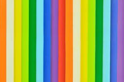 Rainbow colorful wall Royalty Free Stock Photography