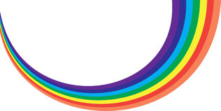 Rainbow Colors Royalty Free Stock Photo