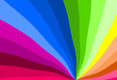 Rainbow colors. A rainbow colors pattern background Stock Photos