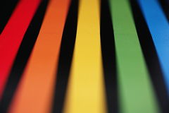 Rainbow colors abstract Stock Images